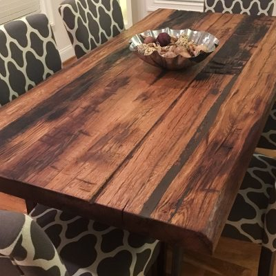 Custom Rough & Chunky Table Top