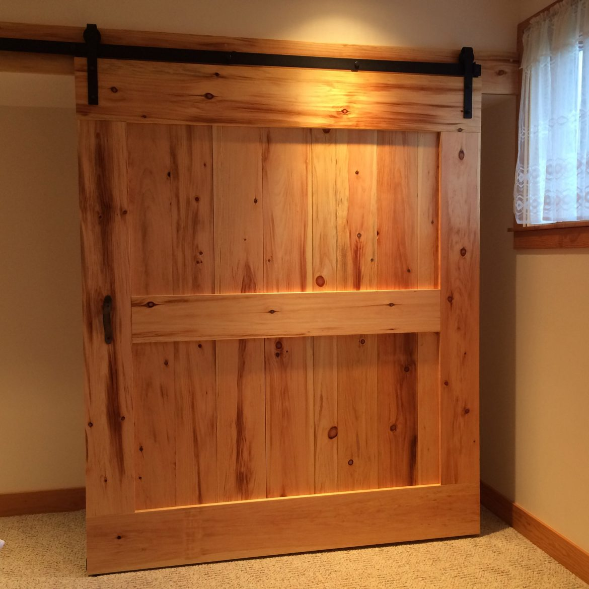 Reclaimed Wood Hemlock Barn Door
