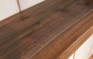 "Set of 2 21"" Live Edge Walnut Floating Shelves (Shelf No. 218)"